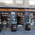 Whiskyläden gibt es reichlich
