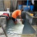 Waschviertel Dhobi Ghat