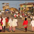 Man geht zu Fuß in Äthiopien