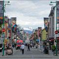 Fußgängerzone in Tromsø
