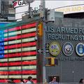 Hier kann man sich spontan für die Army verpflichten