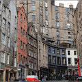 Unterwegs in Edinburgh