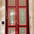 Schöne alte Tür
