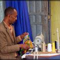 Es gibt noch viel Handarbeit in Äthiopien