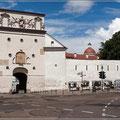 Stadtmauer in Vilnius