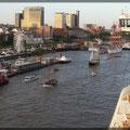 Blick Richtung Landungsbrücken
