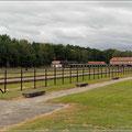 Blick auf die Reste des KZ Stutthof