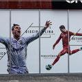 In Funchal geboren, der Fußballer Ronaldo