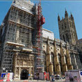 Baustelle Canterbury Cathedral