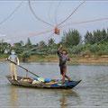 Fischen mit dem Netz