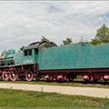 Russische Dampflok