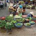 Gemüse und Obst wächst im Delta reichlich