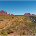 Monument Valley in Sicht