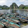 Tolle Kulisse für eine Bootsfahrt
