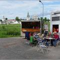 Picknick mit Klosterblick