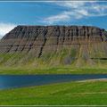 Landschaft der Westfjorde