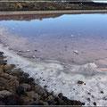 Salzgewinnung in den Salinas de Fuencaliente