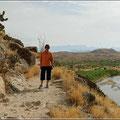 Wanderung mit Blick auf den Rio Grande