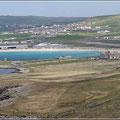 Blick auf Shetland