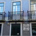 """""""Kachelhäuser"""" gibt es sehr häufig in Lissabon"""