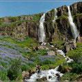 Der letzte Wasserfall auf Island