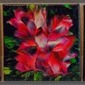 Blumen in Acryl
