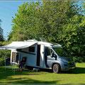 Unser erster Campingplatz in England