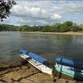 Bootsfahrt auf dem Rio San Carlos