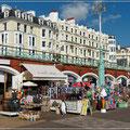 Brighton Beach ist sehr kommerziell