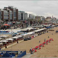 Restaurantmeile am Strand