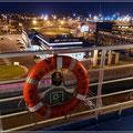 """Abfahrt aus Hull mit der """"Pride of Rotterdam"""""""