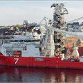 Spezialschiff in Stavanger