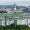 Blick auf Petersburg