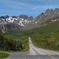 Unterwegs auf dem Lofoten-Highway