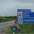 Grenze nach Finnland