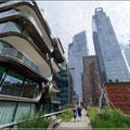 Spaziergang auf der High Line