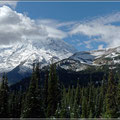 Blick auf den Mt. Rainier