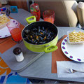Moules mit Frites