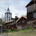 Die Kirche ist von überall sichtbar