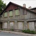 Sieht man hier sehr oft, verlassene Häuser