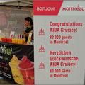 Begrüßung durch Montreal