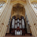 Orgel in Bath Abbey