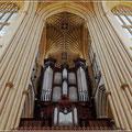 Orgel in Bath Abbey
