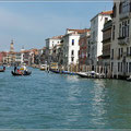 Fahrt auf dem Canale Grande
