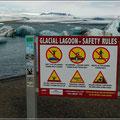 Am Jökulsárlón Gletscher