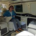 Umgebauter Mercedes-Van für Promis (knapp 250.000 Euro)