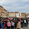 Venedig ist immer voller Besucher