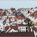 Blick vom Deck auf Old Stavanger