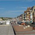 Schöne Promenade in Mers-les-Bains