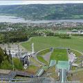 Blick auf Lillehammer